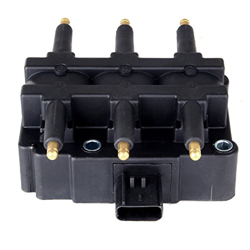 cciyu Pack of 1 Ignition Coil Chrysler Pacifica/Town Country/Voyager Dodge Caravan Jeep Wrangler 2000-2011 Fits UF305 C1442 69531679