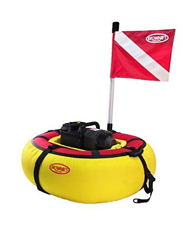 Brownie's Sea Lion Battery Floating Hookah Dive System 2 diver package (Brownies Hookah)