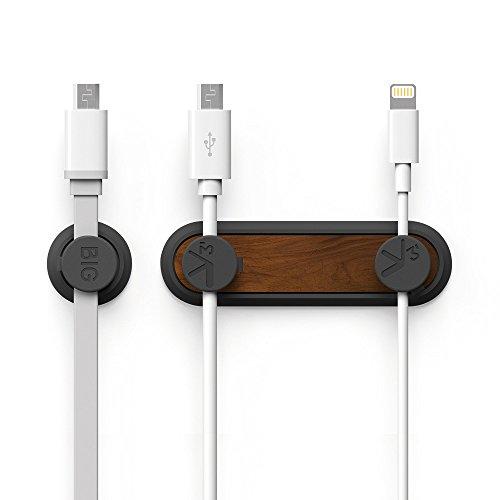 Philonext hui-99 TedGem Magnetic Cable Clips, Desktop Cord Management, Multipurpose Organizer with 3 Cable Buckles...