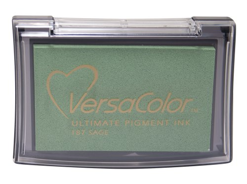 Tsukineko Full-Size VersaColor Ultimate Pigment Inkpad, Sage