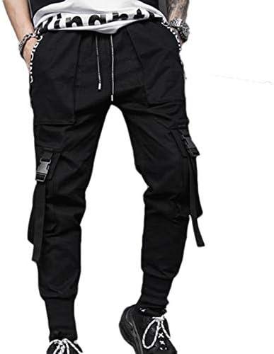 Pantalones De Hombre Hiphop Street Hip Hop Style Pantalones Casuales Jogger Cargo Pantalones De Chándal: Amazon.es: Ropa y accesorios