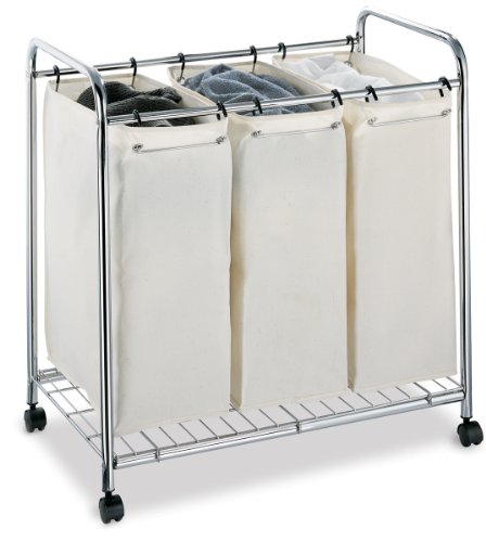 Neu Home 1763W-1 Laundry Sorter, Chrome