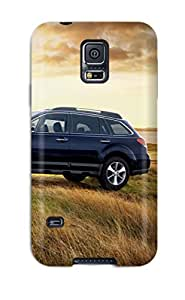 Cynthaskey Scratch-free Phone Case For Galaxy S5- Retail Packaging - Subaru Outbacks 13