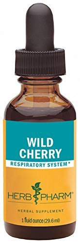 Bark 1 Ounce Herb (Herb Pharm Certified Organic Wild Cherry Bark Extract for Respiratory Support - 1 Ounce by Herb Pharm)