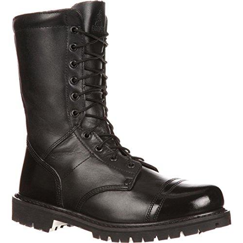Rocky Duty Men's Modern Paraboot,Black,8.5 M (Best Correctional Officer Boots)