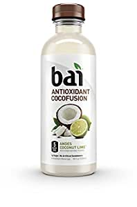 Bai Cocofusions Andes Coconut Lime, Antioxidant Infused Beverage, 18 Fl. Oz. Bottles (Pack of 12)