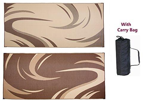 stylish-camping-outdoor-reversible-mat-graphic-swish-design-8-ft-x-18-ft-brown-tan