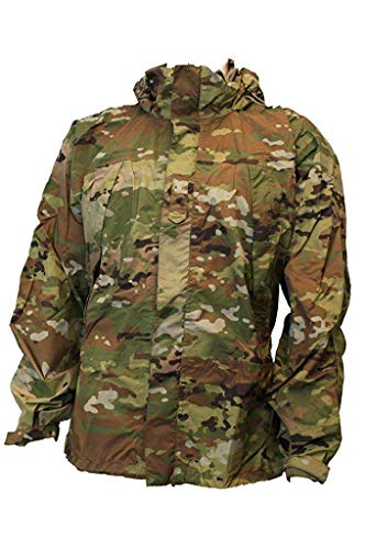 Genuine Issue US Gen 3 Level 6 Cold/Wet Weather Waterproof Jacket Multicam OCP (X-Large - Camouflage Parka Windproof