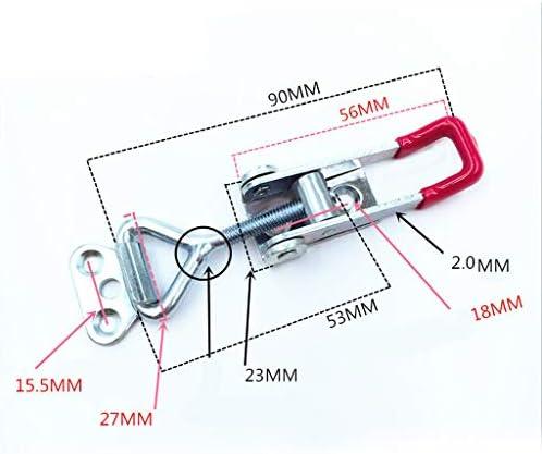 トグルクランプ ラッチ型 固定具ラッチ クランプクリップロック式 GH-4001 S 防錆 安全