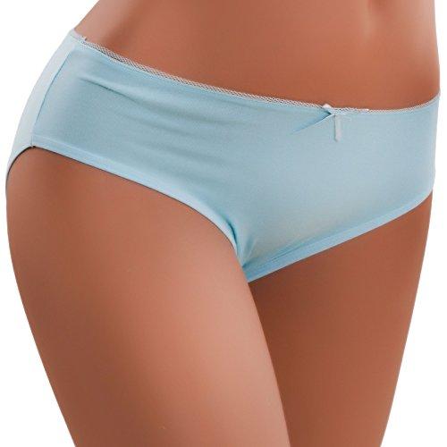 Toocool - Braguitas - para mujer azul claro