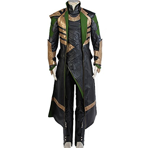 CosplaySky Thor The Dark World Loki Costume Halloween Outfit Medium