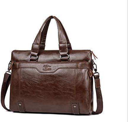 男性ハンドバッグビジネスブリーフケースショルダーバッグメッセンジャーバッグ男性のオフィスバッグ