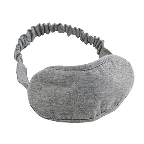 病んでいる添加全国SUPVOX 睡眠マスクコットンアイマスク厚手の目隠しアイカバー女性のための子供たちの子供ホームベッド旅行のフライトカーキャンプオフィス使用(グレー)