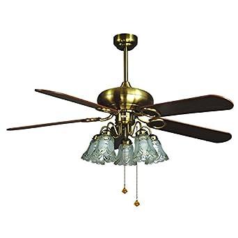 Restaurante techo ventilador luces ventilador pulgadas hojas ...