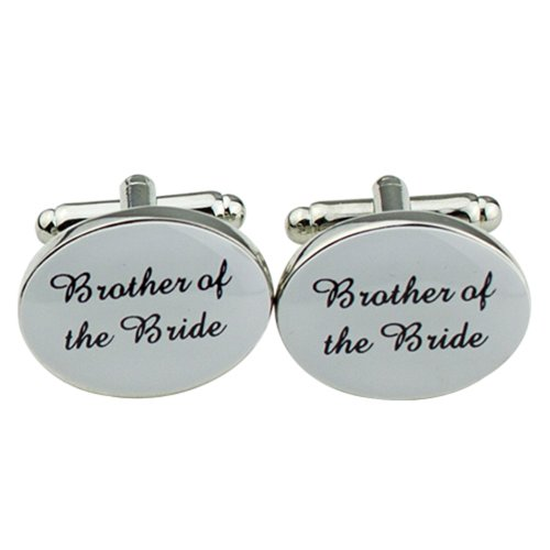 mens-silver-color-plastic-oval-wedding-cufflinks-cuff-link-brother-of-the-bride