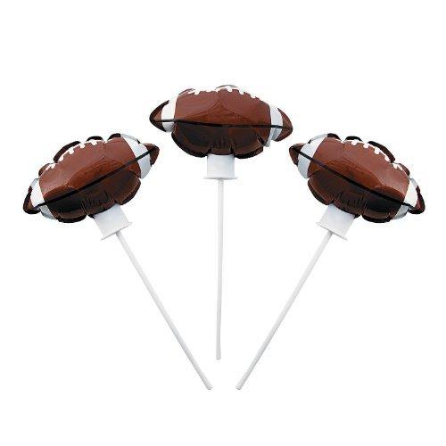 Football Self-Inflating Mylar Balloons - 1