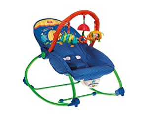 Fisher-Price Infant-To-Toddler Rocker, Blue/Green (Discontinued by Manufacturer)