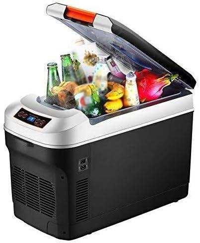 Weiaxminibx 車、家庭、キッチンに適しホットとコールドデュアル使用車冷蔵庫、ポータブルアウトドア小型冷蔵庫、25L / 35L大容量冷蔵庫、学生寮化粧品冷蔵庫 (Size : 35L)