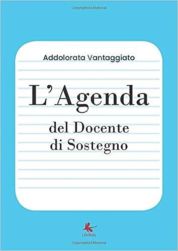 LAgenda del Docente di Sostegno: Amazon.es: Addolorata ...