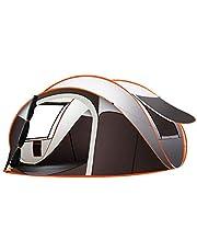 خيمة عائلية سريعة التركيب اوتوماتيكية بالكامل للنشاط العائلي الخارجي والتخييم متعددة الاستخدامات وسهلة الحمل ومقاومة للبلل والمطر