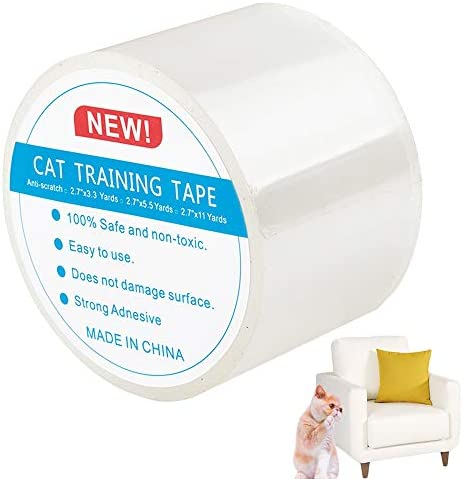 Cat Scratch Protector Anti-Scratch Cat Training Sticky For Sofa Wall Leather Door Furniture DMFSHI Cat Training Tape 7cm x 10m Clear Furniture Protector Tape