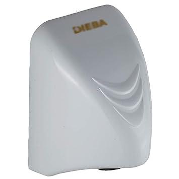 Secador de Manos Doméstico Montado en la Pared Mute Ahorro de Energía, Vertical para Cocina, Baño, Blanco, 14x15x22CM: Amazon.es: Hogar