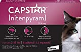 Capstar Fast-Acting Oral Flea Treatment for Cats - 6 Doses - 11.4 mg (2-25 lbs)