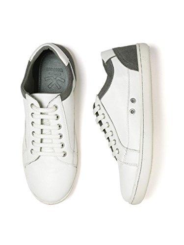 WROGN Men's White Polyurethane Sneakers