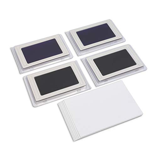 Baby Foot Print (Juvale Clean Touch Ink Pad for Baby Hand Foot Prints - 4)