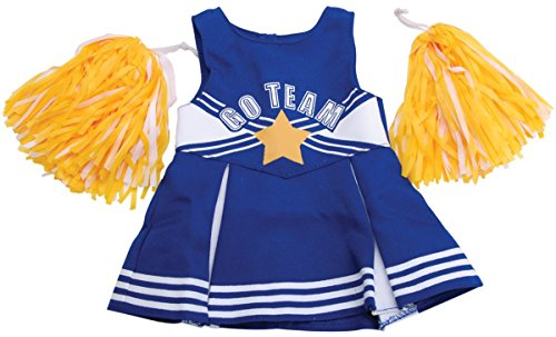 [Springfield Cheerleader Outfit And Poms] (Doll Outfits Halloween)