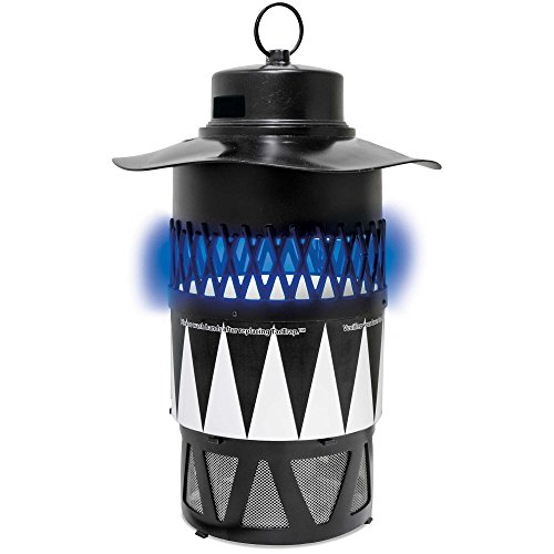 Blue Rhino Bite-Guard Insect Trap - SkeeterVac Electric 120 Volt Mosquito Trap with OneBait Insect Lure Trap - Traps Biting Insects 7 Different Ways - Covers ½ Acres ()
