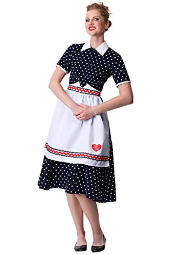 Women's Plus Size I Love Lucy Lucy Costume 1X -