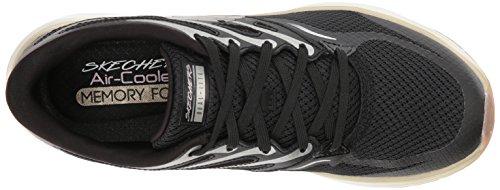 Skechers Zapatillas Para Skyline Bkgd aglow Negro black Mujer Gold RSqURzOwr