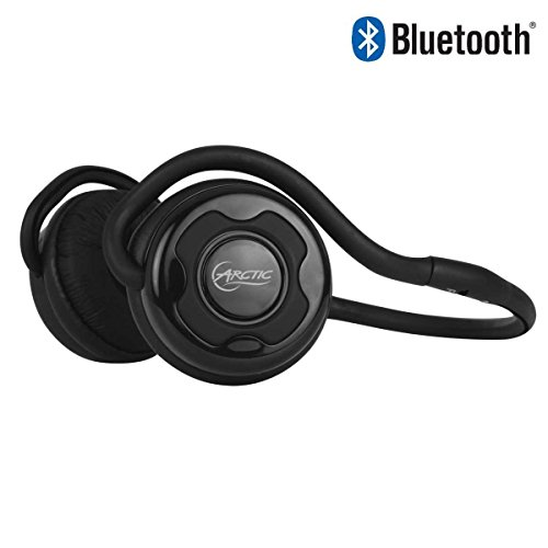 Arctic P253 Bt R2–Wireless Bluetooth V4.0 Headset with Neckband Headphones for on The Move and for Sport-up to 20 Hours Continuous Playback Wireless with Microphone for Hands-Free Calling