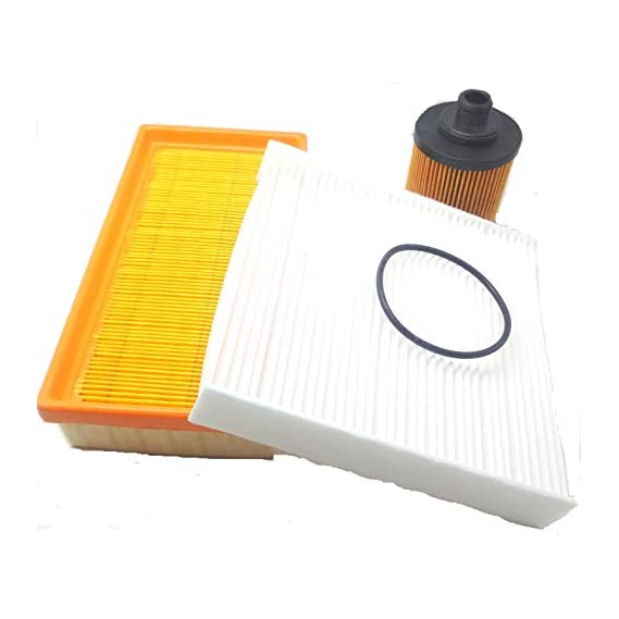 GOPINATH AUTOLINK CAE ENGINE OIL FILTER+AIR FILTER+ AC FILTER SET OF 3PCS COMPATIBLE WITH SWIFT/DZIRE OLD -UP TO 2013