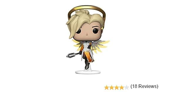 Funko Pop! - Mercy Figura de Vinilo (29047): Funko Pop! Games:: Amazon.es: Juguetes y juegos
