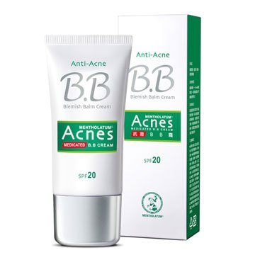 Mentholatum Acnes médicamenteux anti-acné BB Cream SPF20