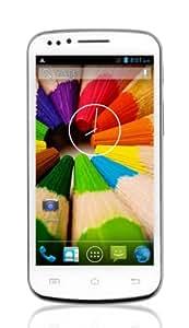 """Smartphone libre Android 4.2, dual core, dual SIM. Pantalla 4.5"""" FWVGA, Capacitive Touch. Memoria: 4Gb Admite tarjeta de32 GB. Camaras de 2Mpx. Cámara frontal. Homologación y garantía españolas."""