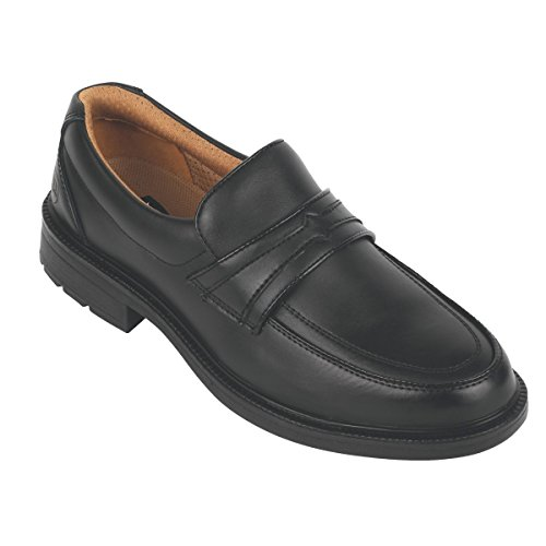 City De Knights Enfiler Noir Sécurité Executive 6 Chaussures Taille À UOUqr1