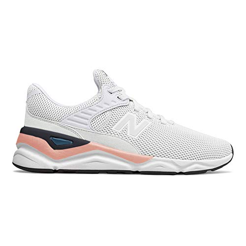 New Balance Men's X90 V1 Sneaker, White/White Peach, 11 D US