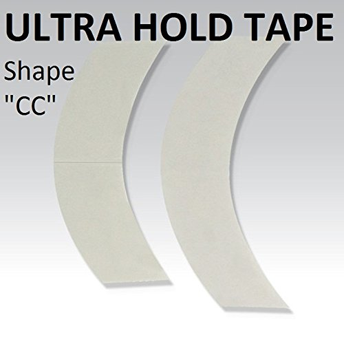 Tape System Hair (Permanent Wear 2-6 Weeks Ultra Hold CC Contour Adhesive Tape 36 Pieces)