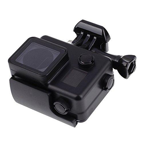 Vicdozia Underwater Blackout Black Waterproof Housing Case Diving Box Cover for GoPro Hero 3+ 4