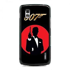 007 Spectre Logo Case Cover For Google Nexus 4 funda Active Movie Logo Case