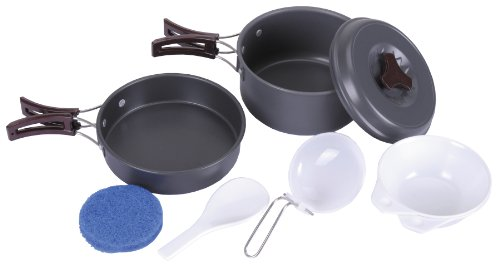 Mess Kit, Aluminium, Anodized by Fox Outdoor
