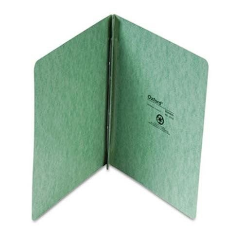 """Oxford 12703 Press Guard Report Cover, Prong Clip, Letter, 3"""" Capacity, Light Green (OXF12703)"""