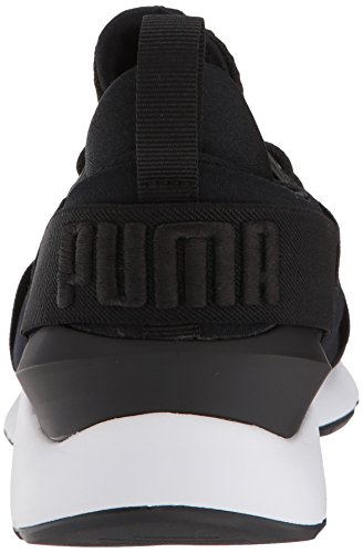 white Satin Sneaker Wn En Pointe black PUMA puma Muse Women's puma qOxqgv