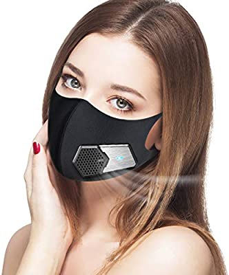 dust mask with electric respirator