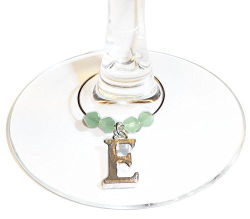 Personalised Wedding Rhinestone Heart Wine Glass Charms ~ Any 3 for £4.50