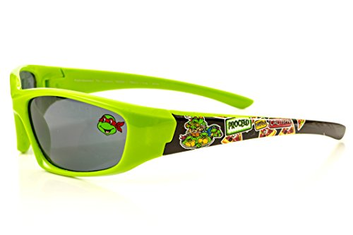 Nickelodeon Teenage Mutant Ninja Turtles Kid's Sunglasses in Lime Green