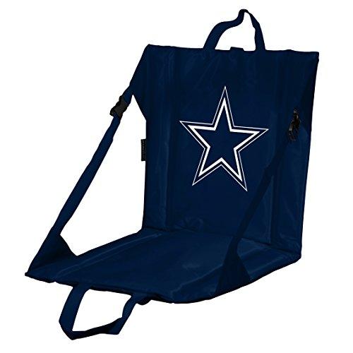 Logo Brands NFL Dallas Cowboys Stadium Seat, One Size, Navy
